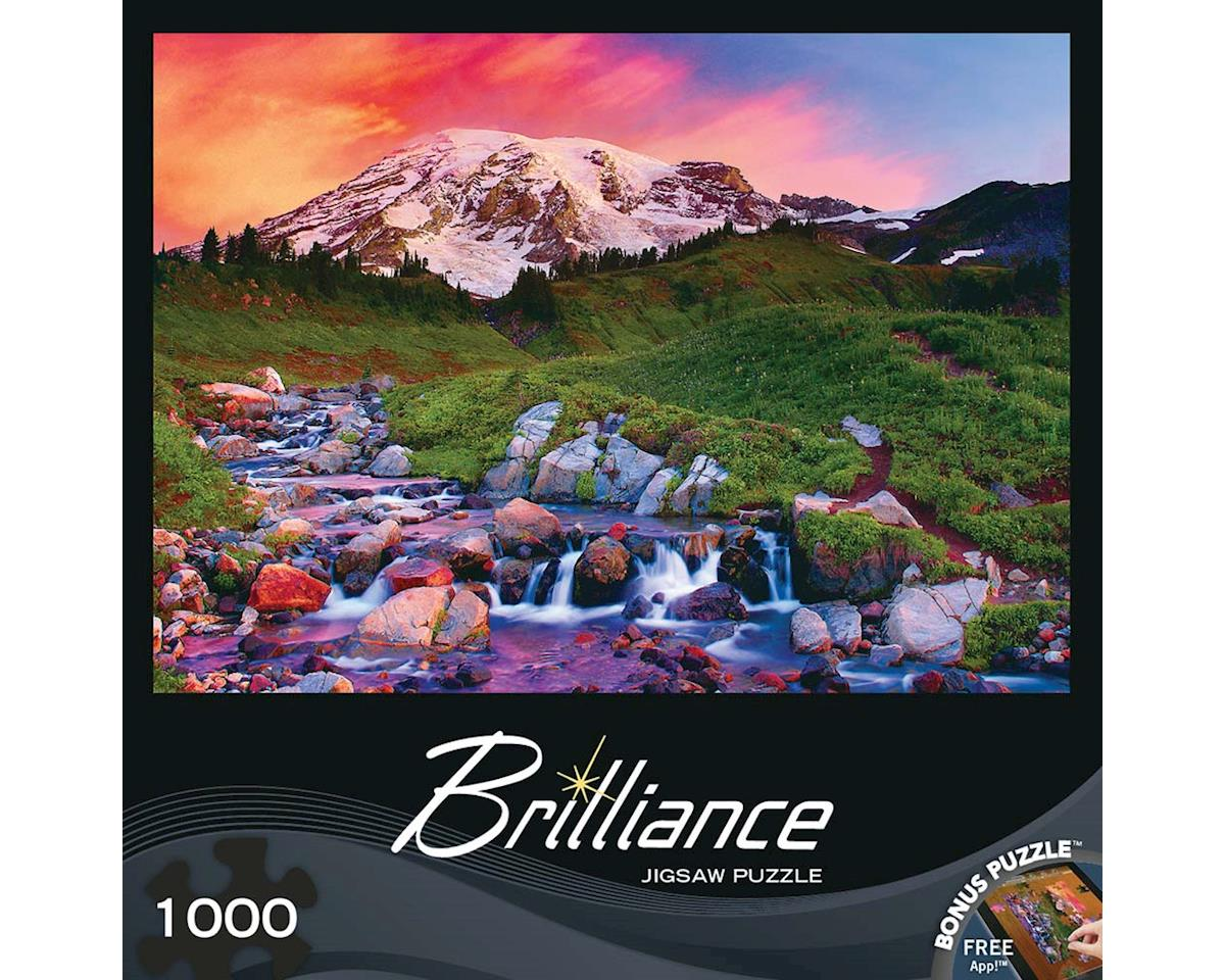 Masterpieces Puzzles & Games 71599 Alpine Sunrise 1000pcs