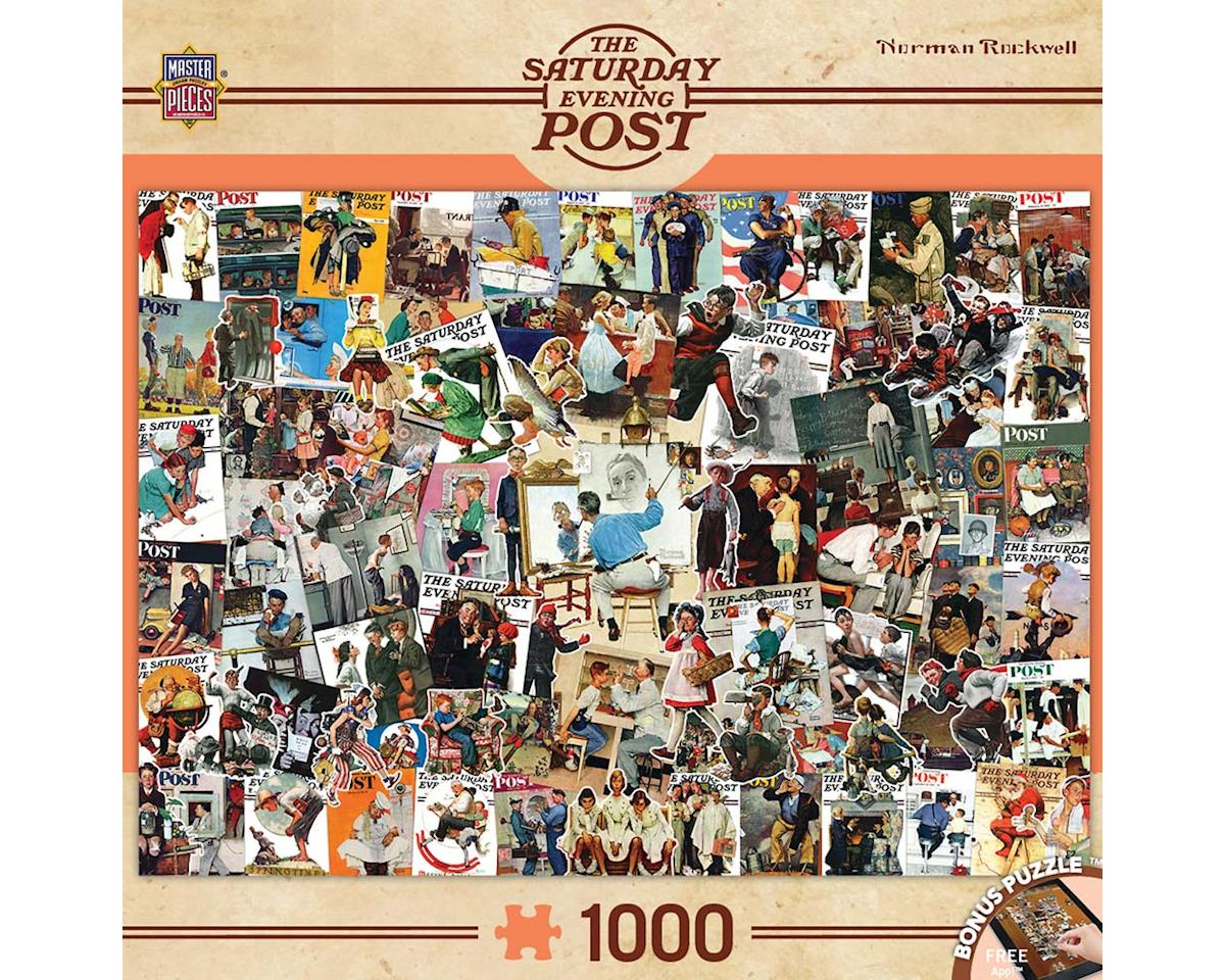 Masterpieces Puzzles & Games 71621 Rockwell Collage 1000pcs