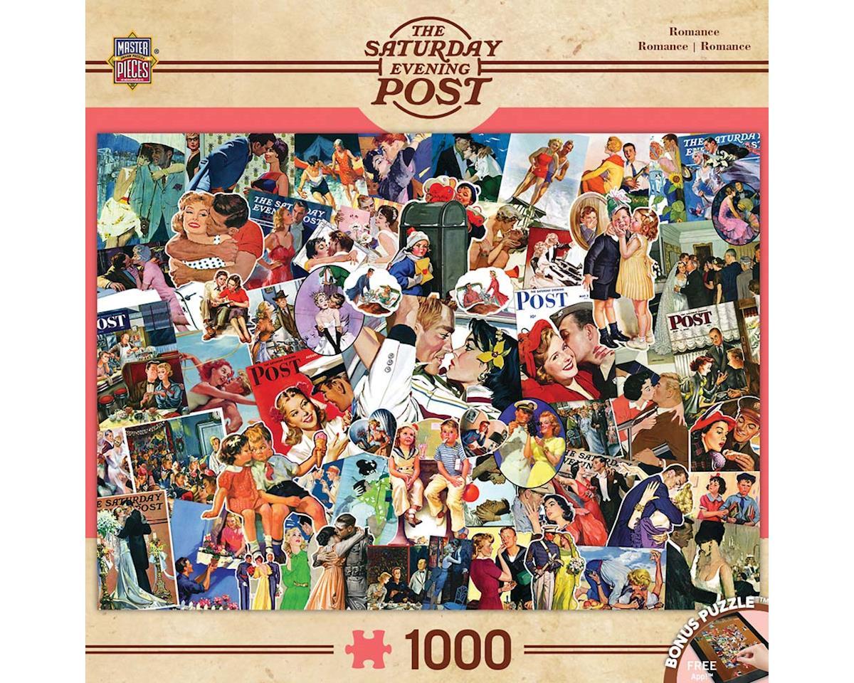 Masterpieces Puzzles & Games 71622 Romance Collage 1000pcs