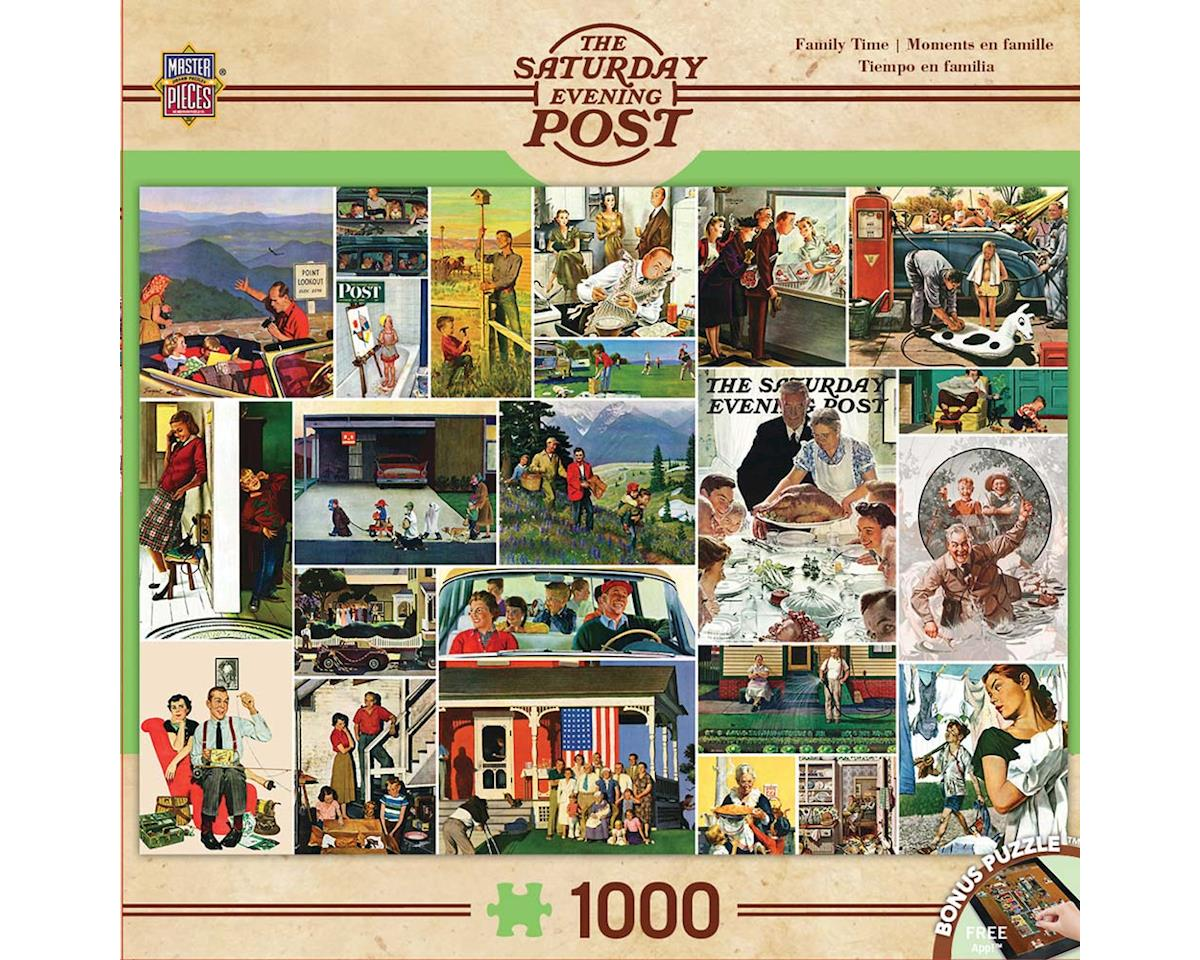 Masterpieces Puzzles & Games 71624 Family Time Collage 1000pcs