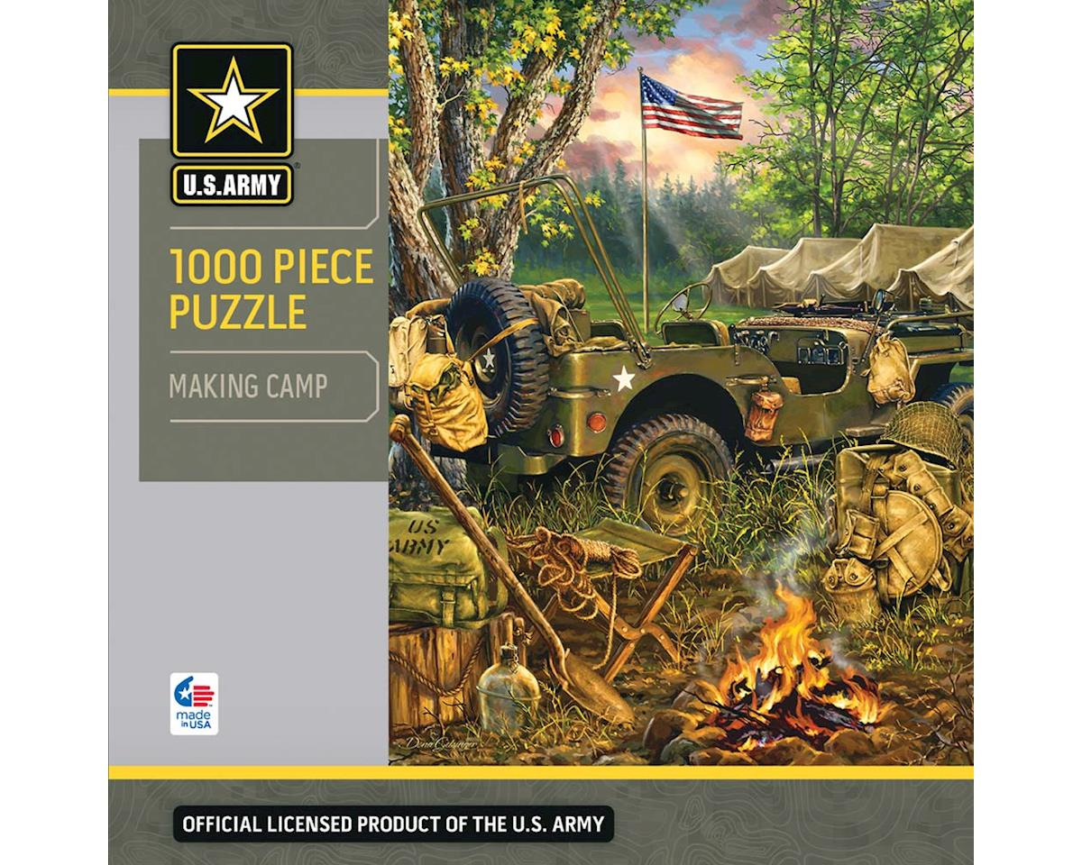 Masterpieces Puzzles & Games 71629 Making Camp 1000pcs
