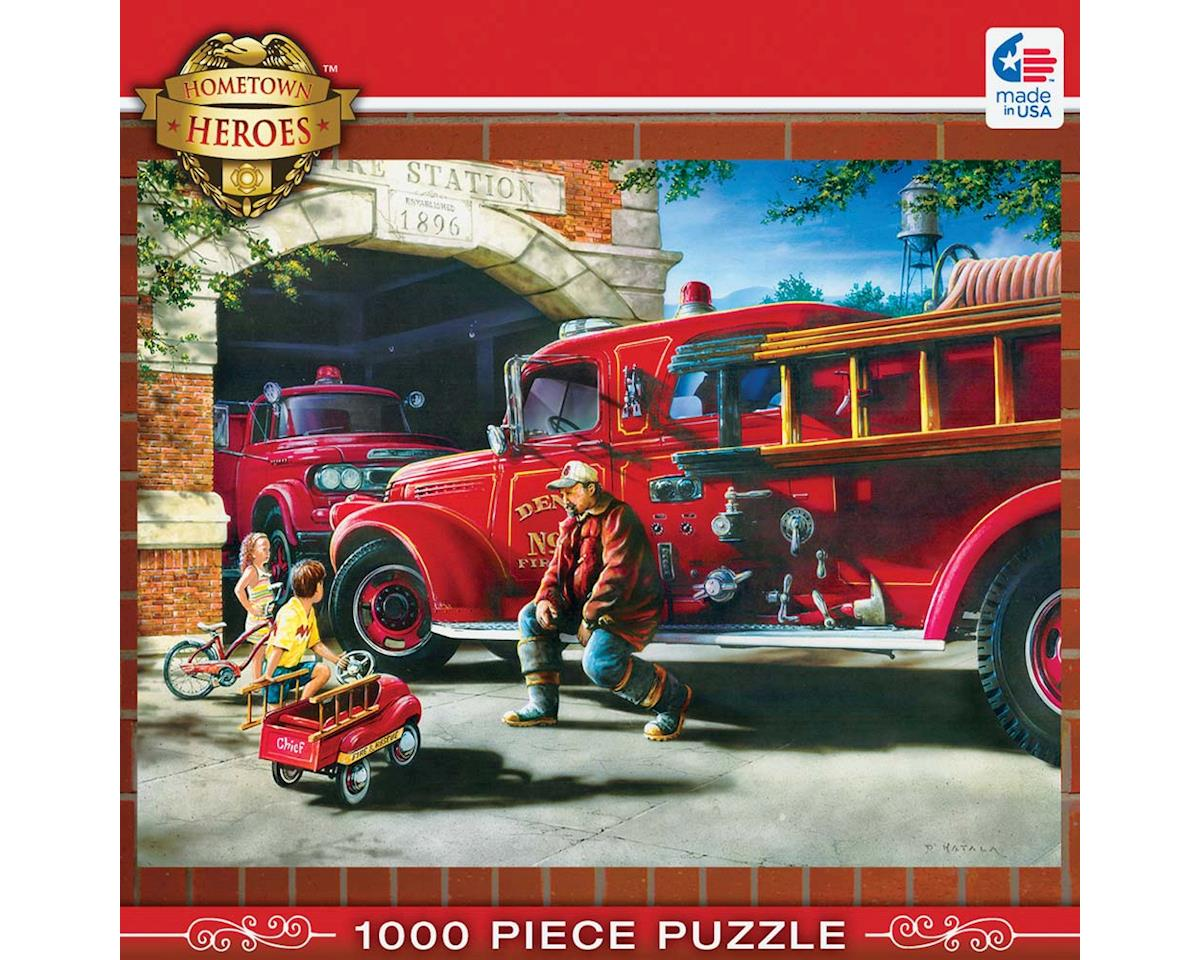 71630 Firehouse Dreams 1000pcs by Masterpieces Puzzles & Games