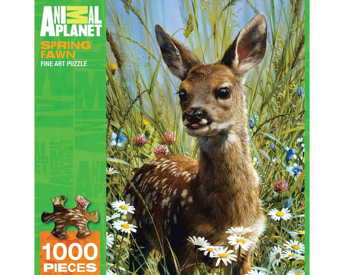 Masterpieces Puzzles & Games Spring Fawn 1000Pcs