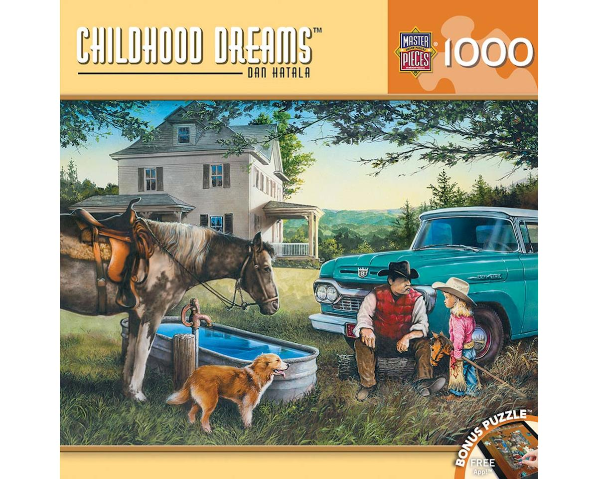 71647 Cowboy Dreams 1000pcs by Masterpieces Puzzles & Games