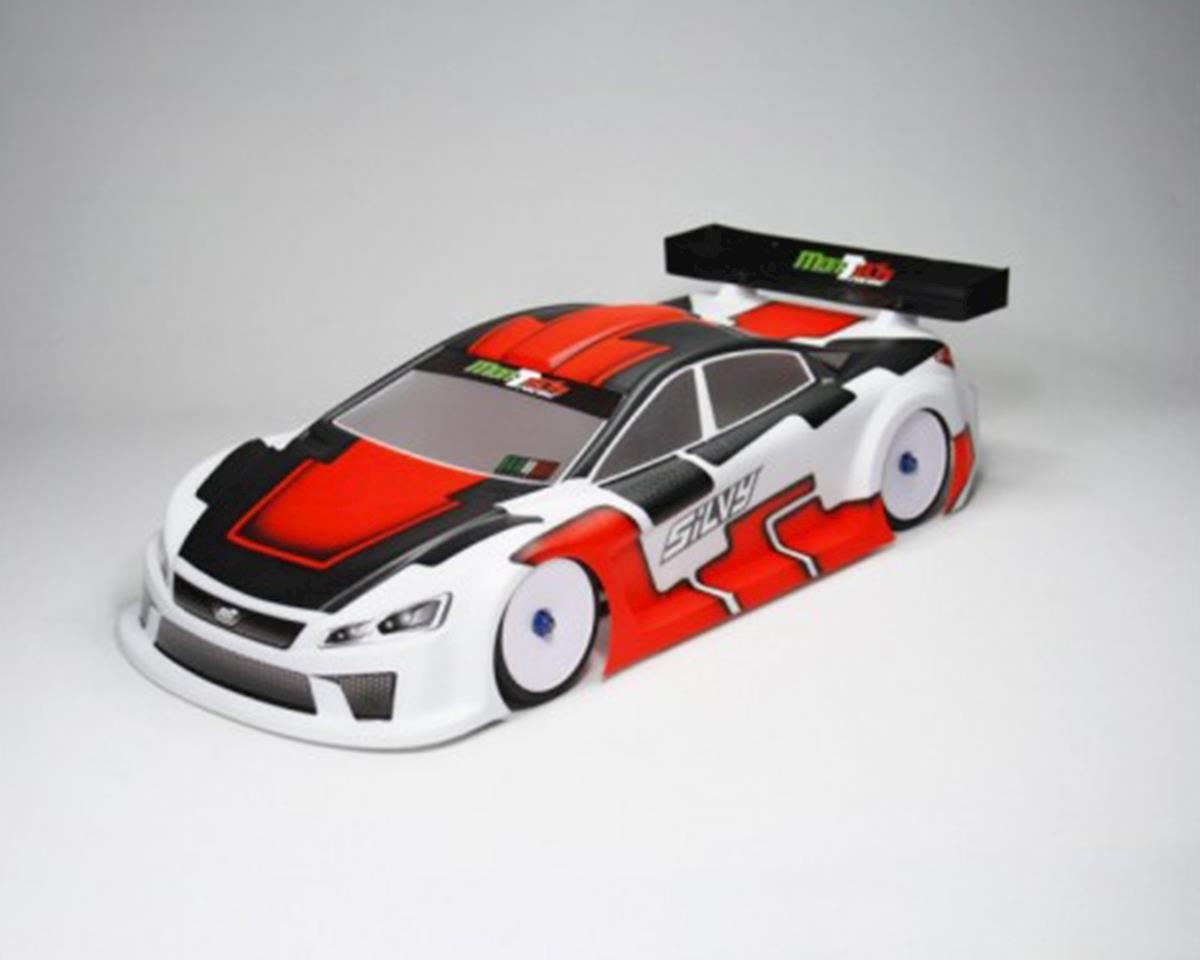 Mon-Tech Silvy200 Nitro Sedan Body (Clear) (200mm)