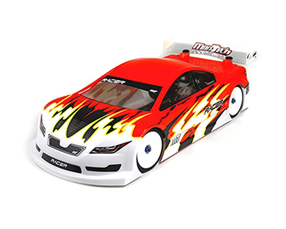 Mon-Tech Racer Pre-Cut 1/10 Touring Car Asphalt Body (Clear) (190mm)