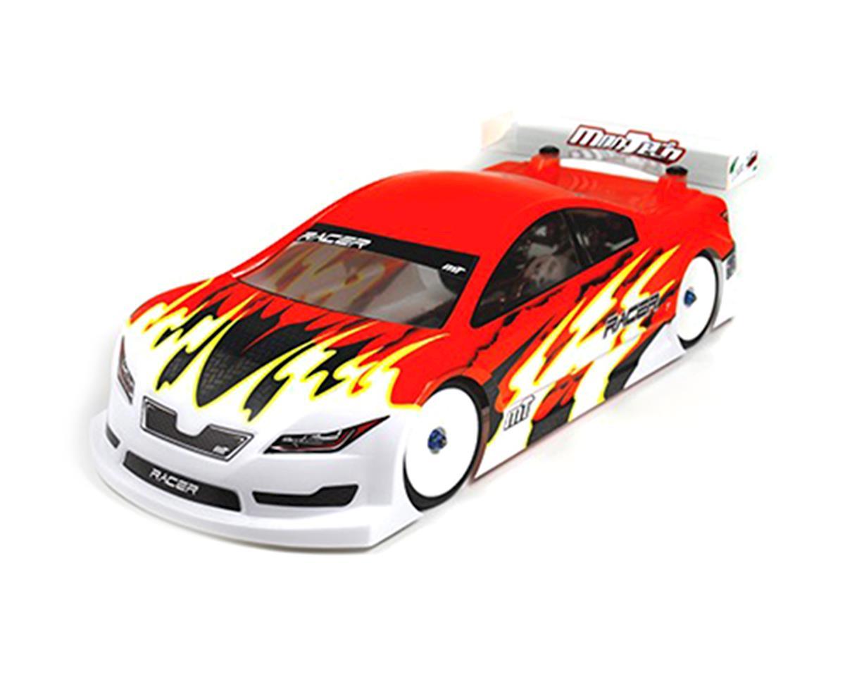 Mon-Tech Racer Pre-Cut 1/10 Touring Car Carpet Body (Clear) (190mm)