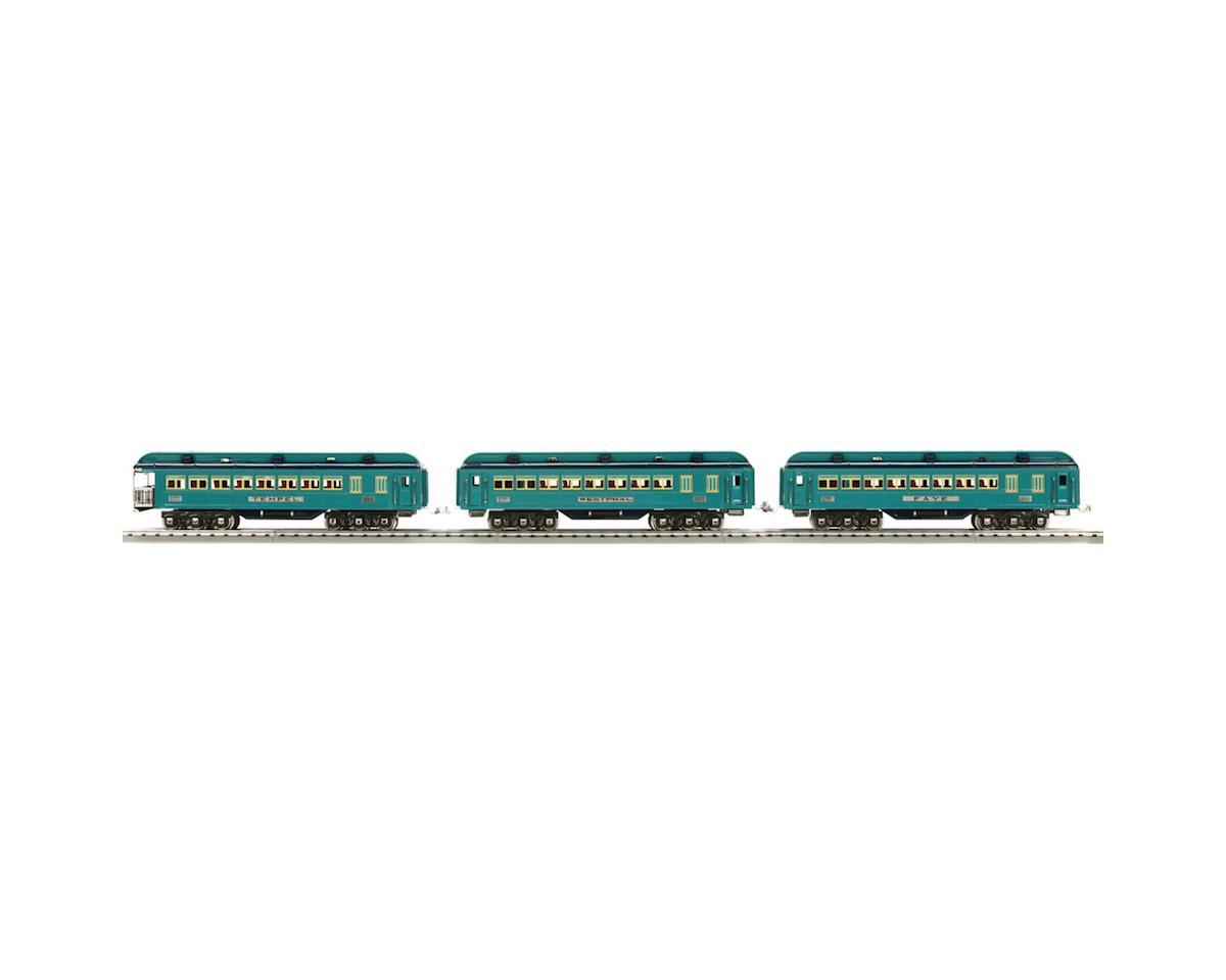 Standard Blue Comet Pass Set, TT Blue/Nickel (3)