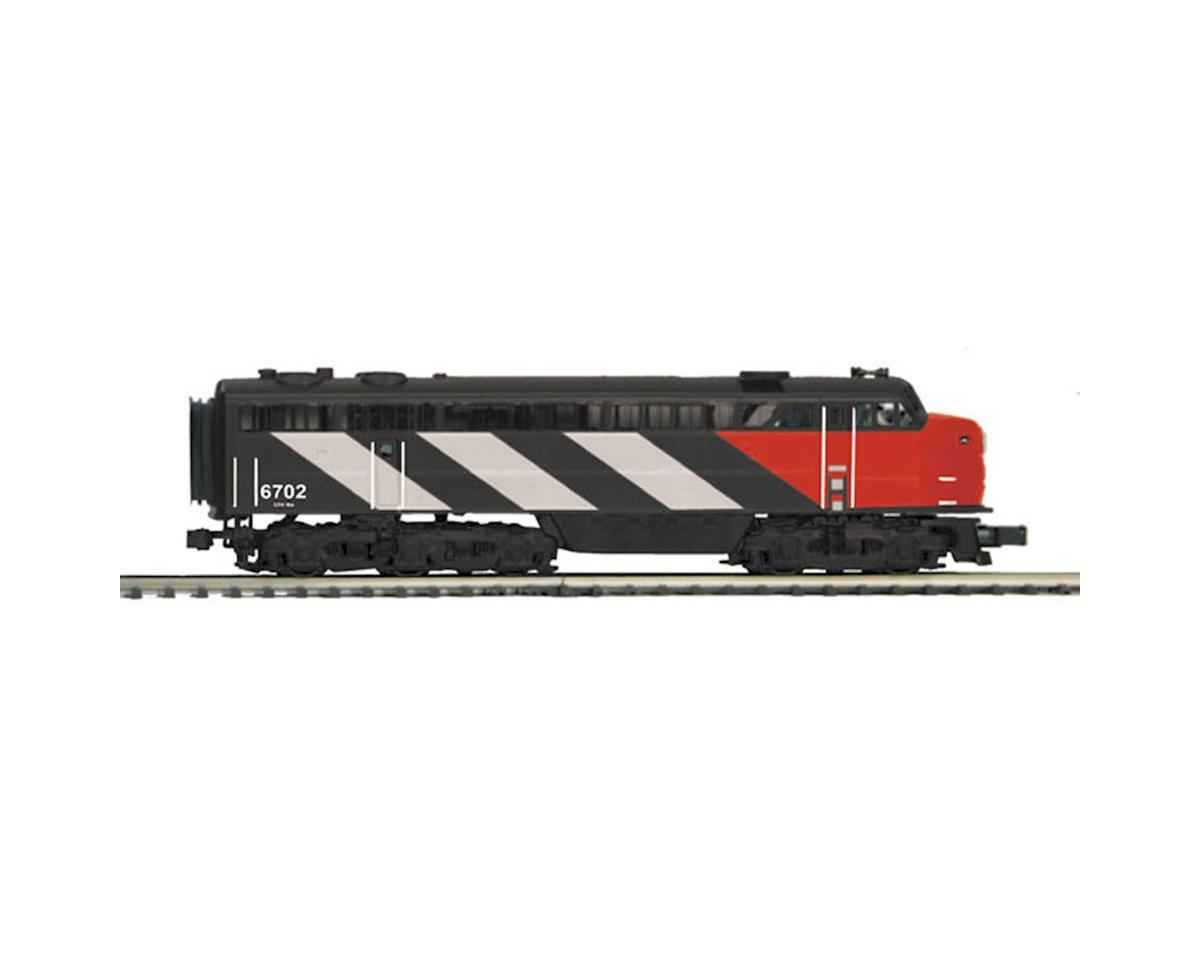 MTH Trains O C-Liner A w/PS3, CN #6702