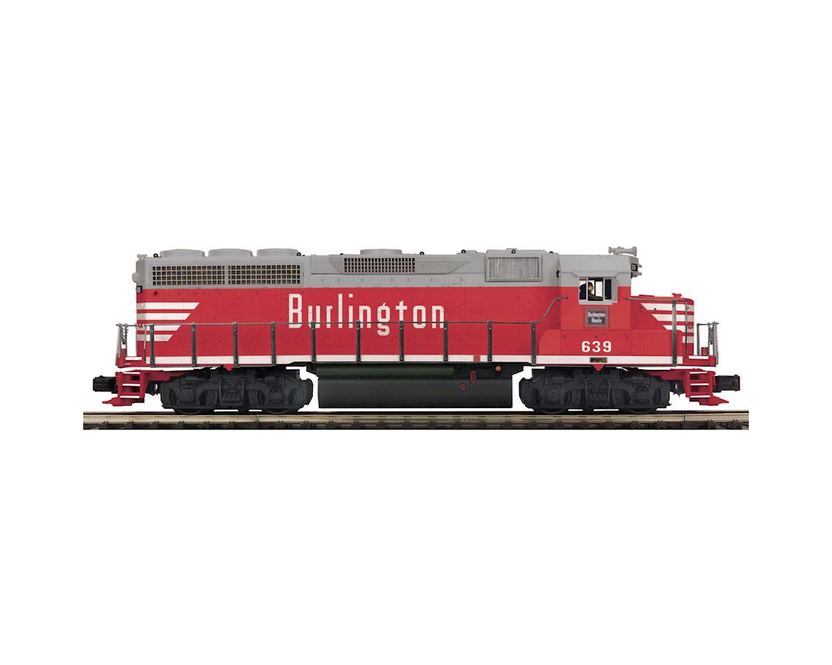MTH Trains O Hi-Rail GP40 w/PS3, CB&Q #1
