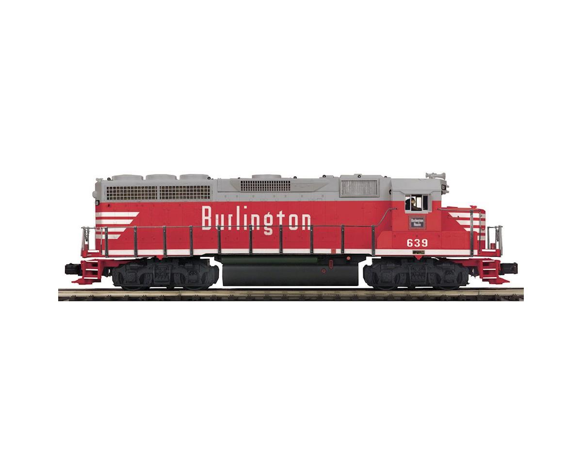 MTH Trains O Hi-Rail GP40 w/PS3, CB&Q #1