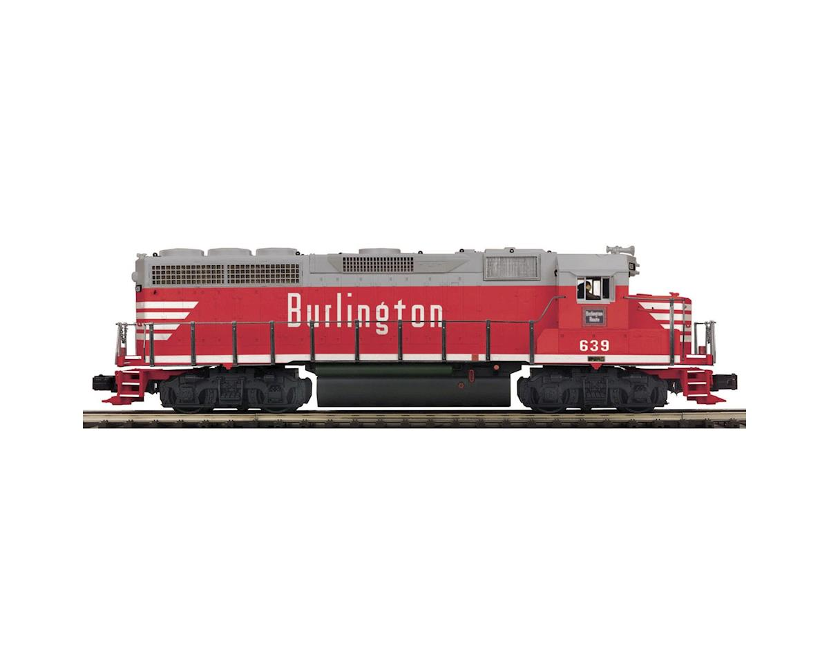 MTH Trains O Hi-Rail GP40 w/PS3, CB&Q #2