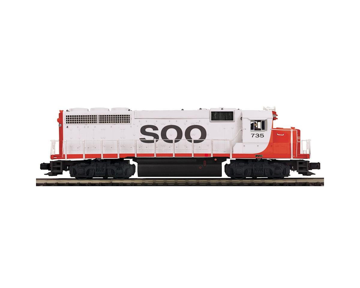 MTH Trains O Hi-Rail GP40 w/PS3, SOO #1