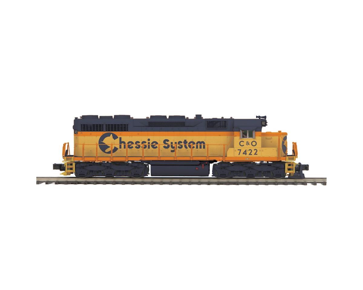 MTH Trains O Hi-Rail SD35 w/PS3, Chessie #2