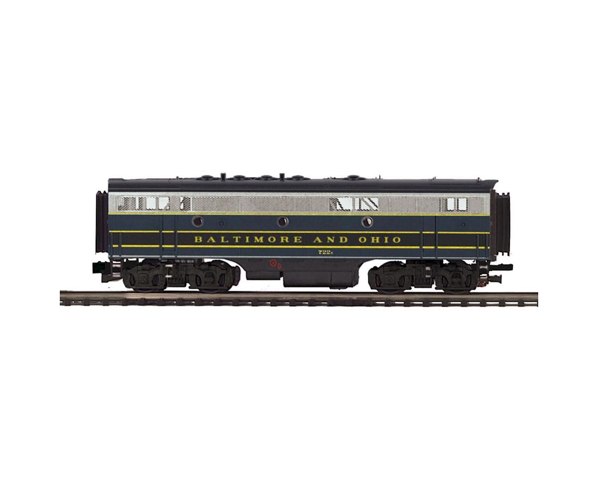 MTH Trains O F7B Dummy, B&O #281X