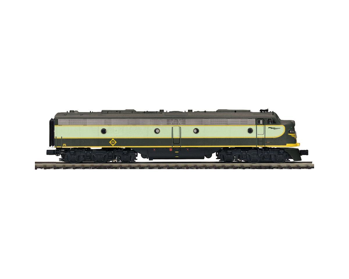 MTH Trains O Hi-Rail E8A w/PS3, Erie #833
