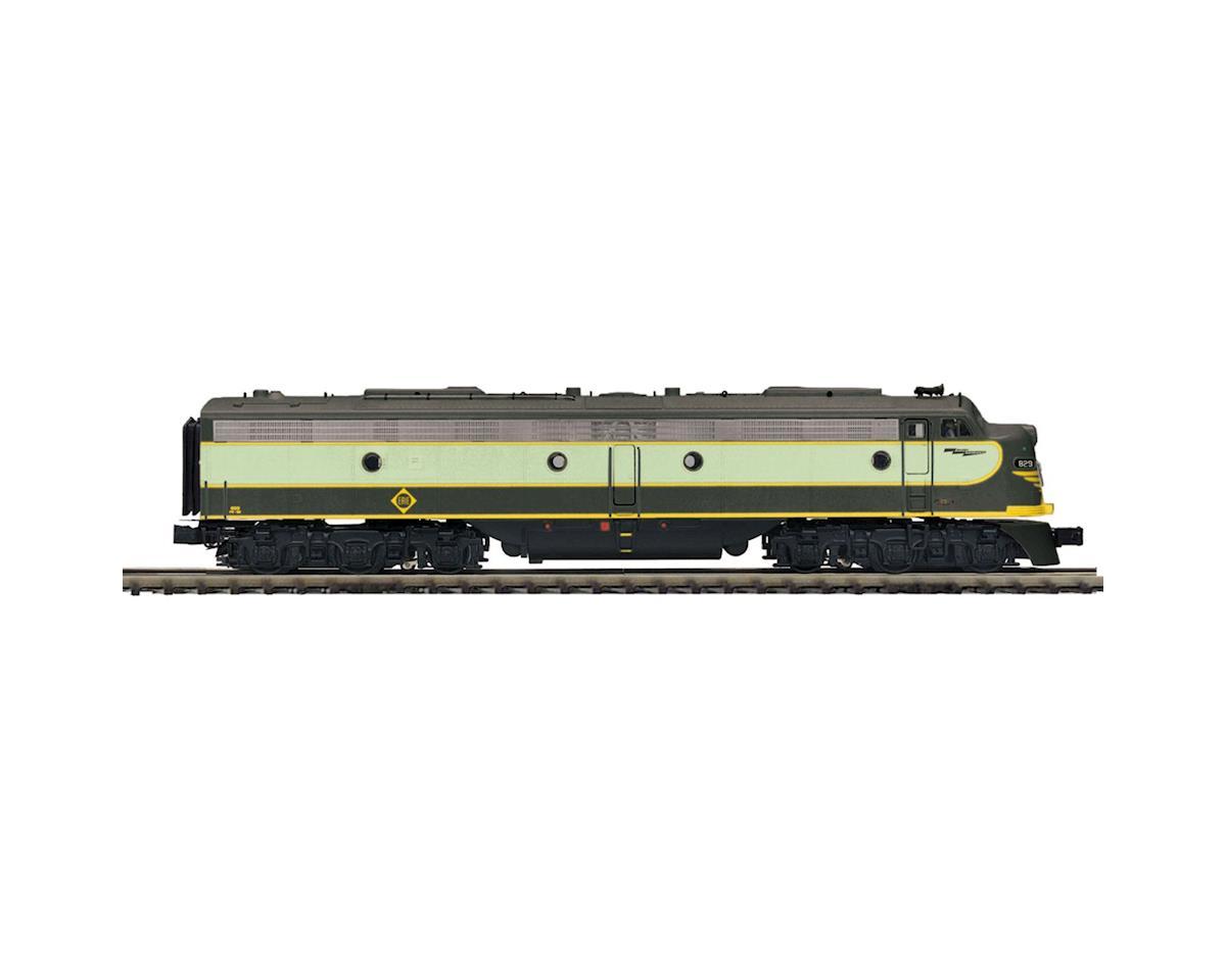 MTH Trains O Hi-Rail E8A w/PS3, Erie #829