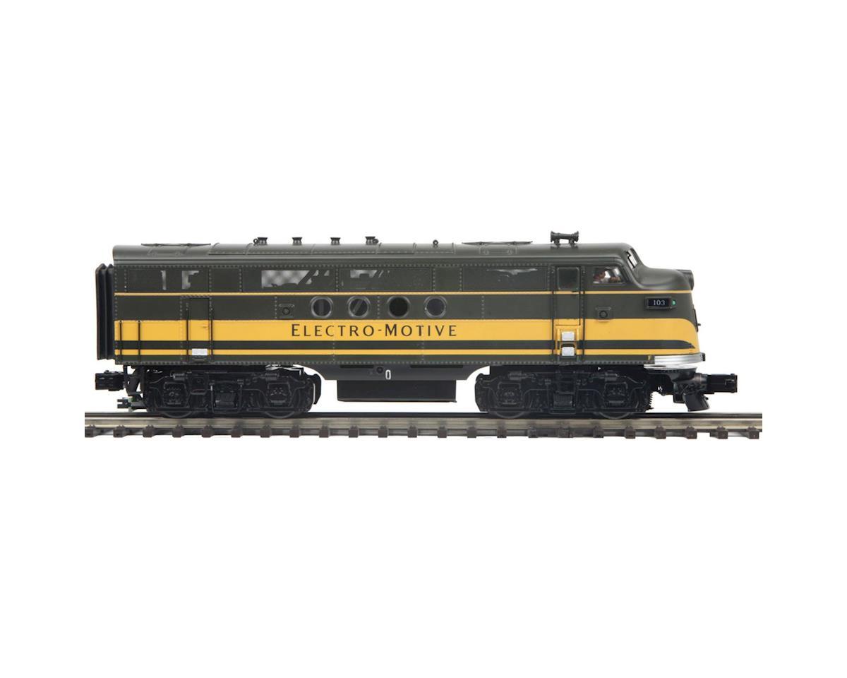 MTH Trains O Hi-Rail FT A w/PS3, EMD #103