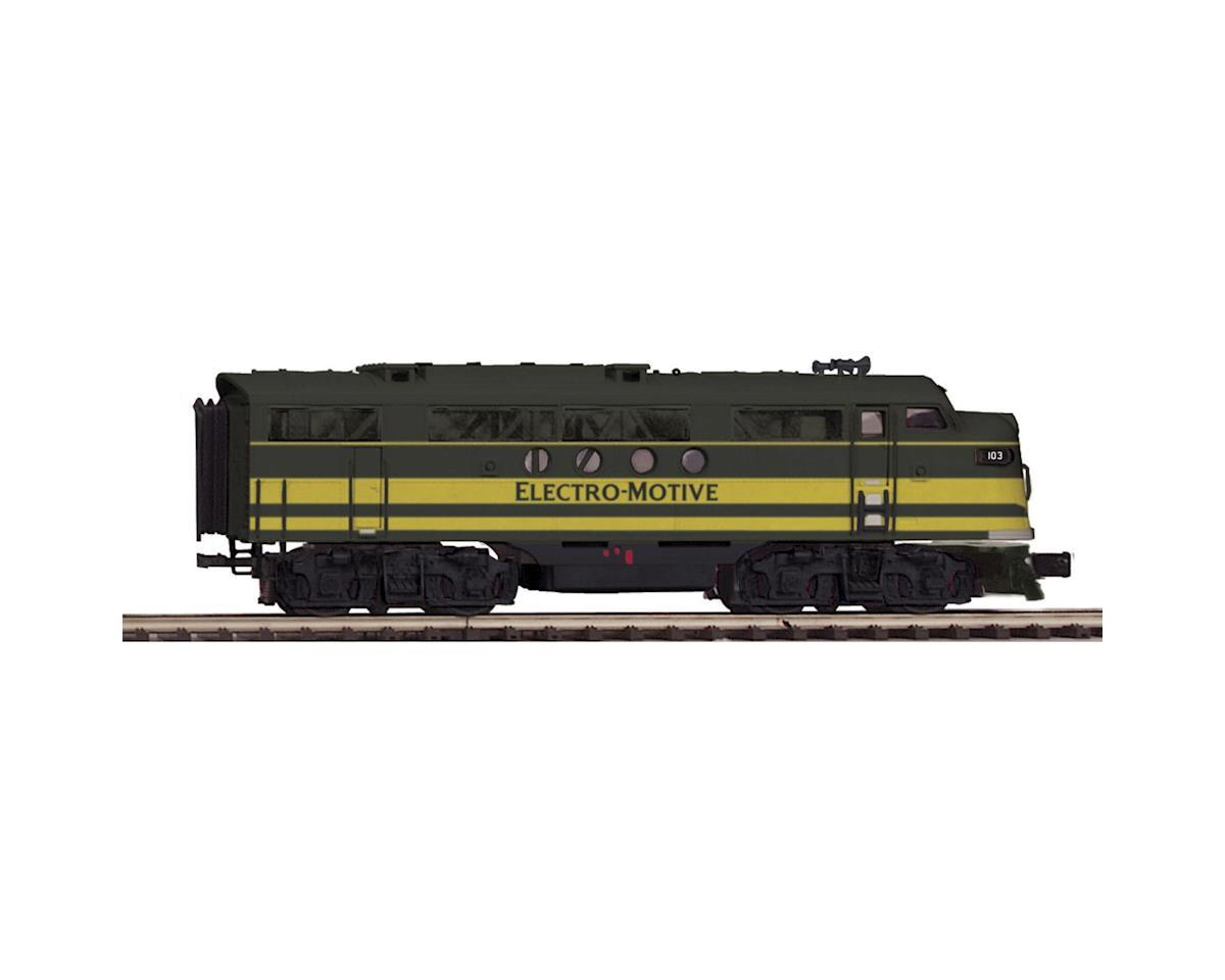 MTH Trains O Hi-Rail FT A w/PS3, EMD #103A