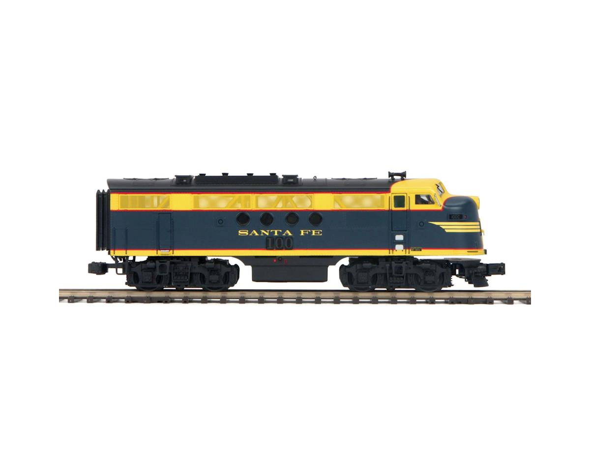 MTH Trains O Hi-Rail FT A w/PS3, SF #100