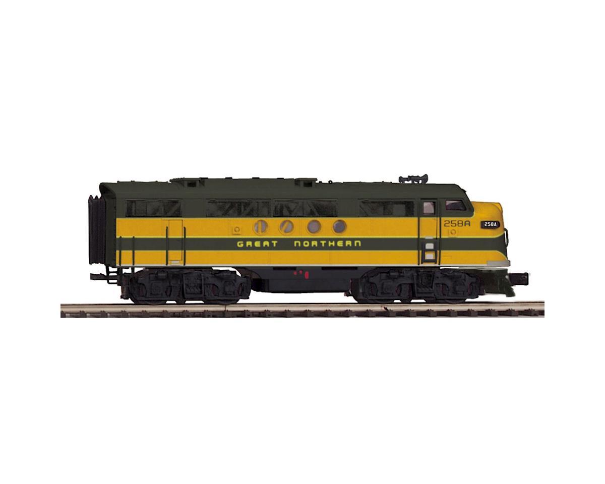 MTH Trains O Hi-Rail FT A w/PS3, GN #258A