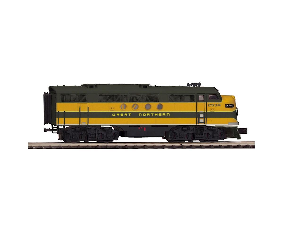 MTH Trains O Hi-Rail FT A w/PS3, GN #249A