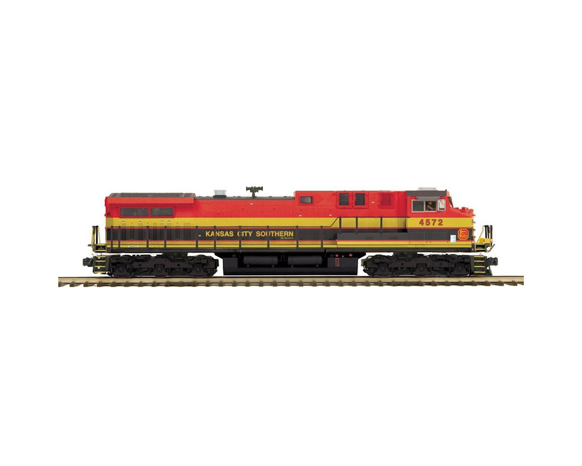MTH Trains O Hi-Rail AC4400cw w/PS3,KCS #4572