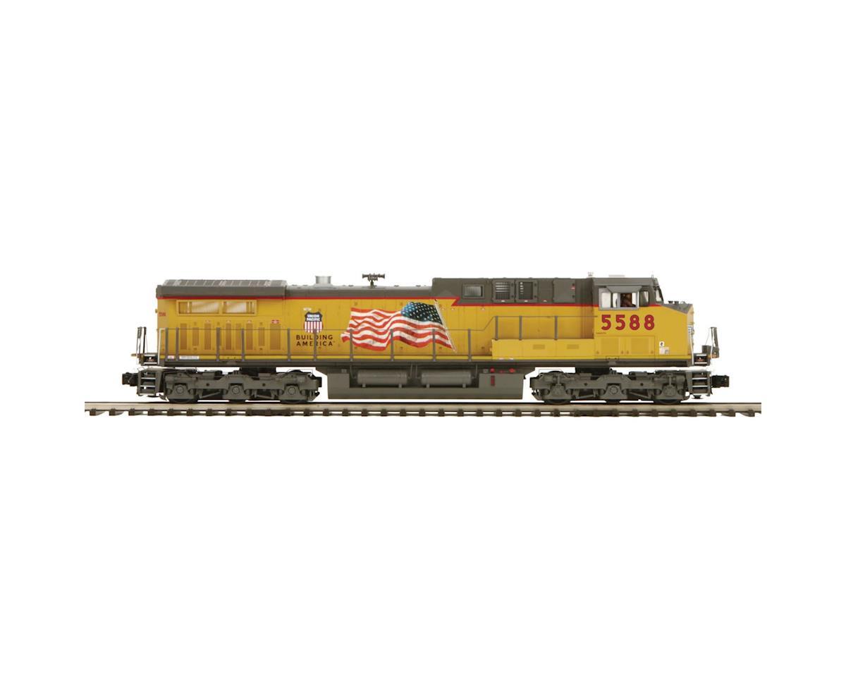MTH Trains O Hi-Rail AC4400cw w/PS3, UP #5588