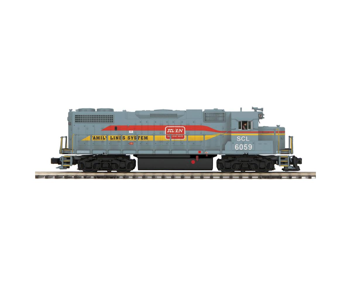 MTH Trains O Hi-Rail GP38-2 w/PS3, SBD #6059