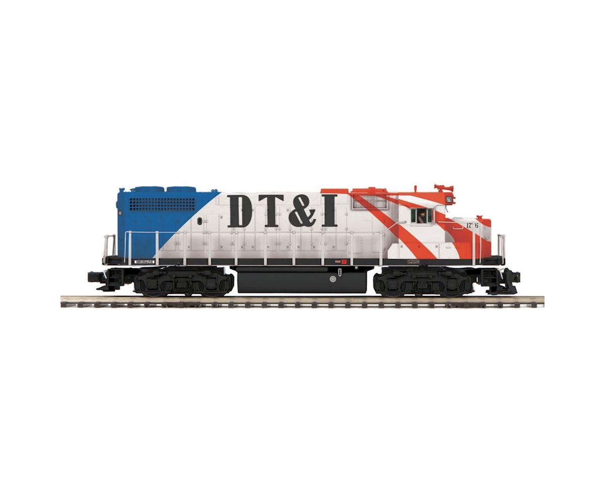 MTH Trains O Hi-Rail GP38-2 w/PS3, DT&I #1776