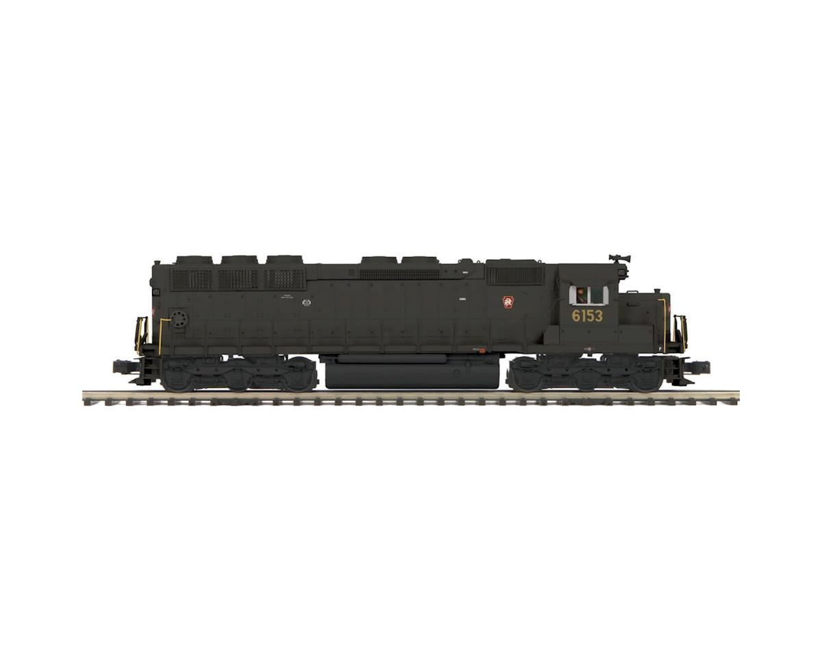 MTH Trains O Hi-Rail SD45 Low Hood w/PS3, PRR #6153