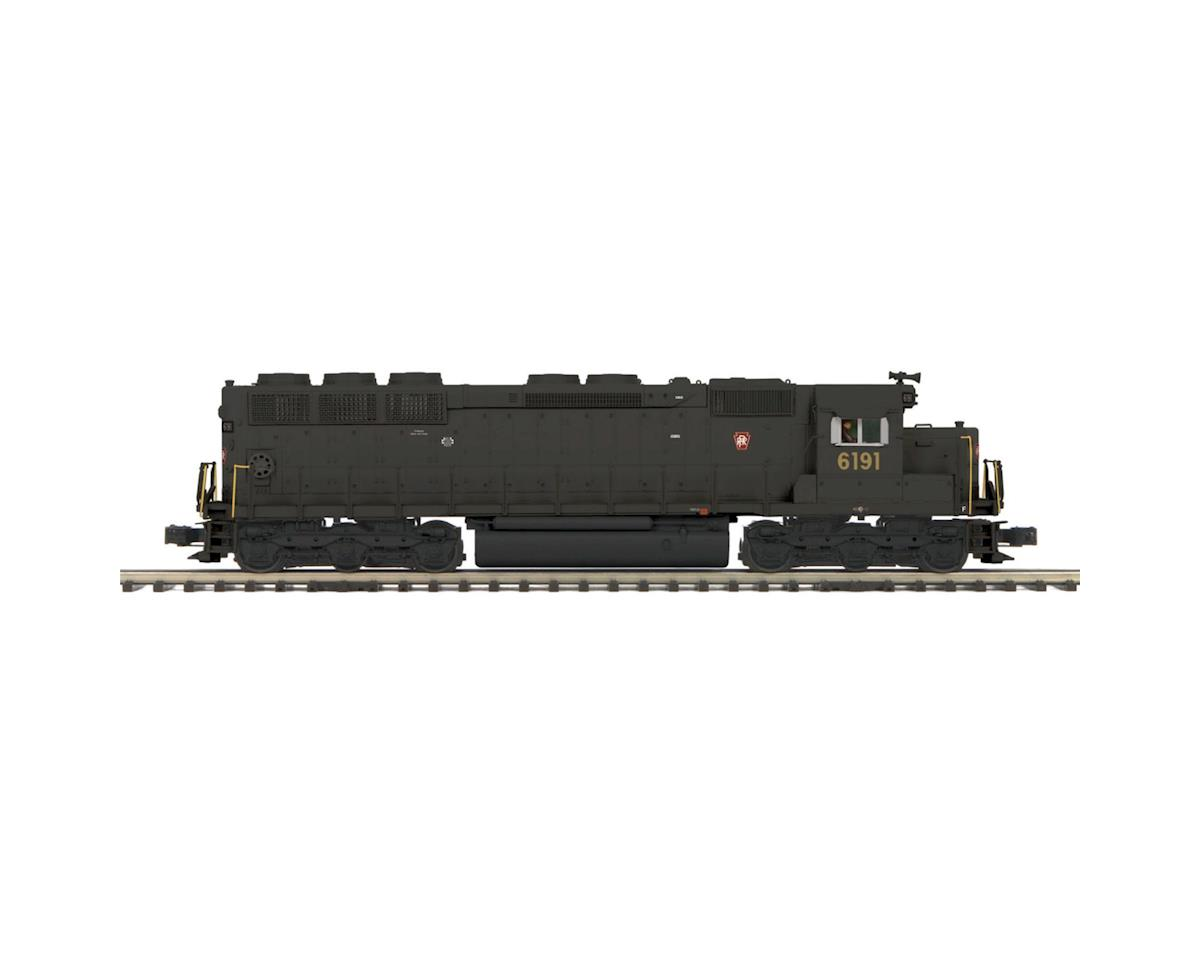 MTH Trains O Hi-Rail SD45 Low Hood w/PS3, PRR #6191