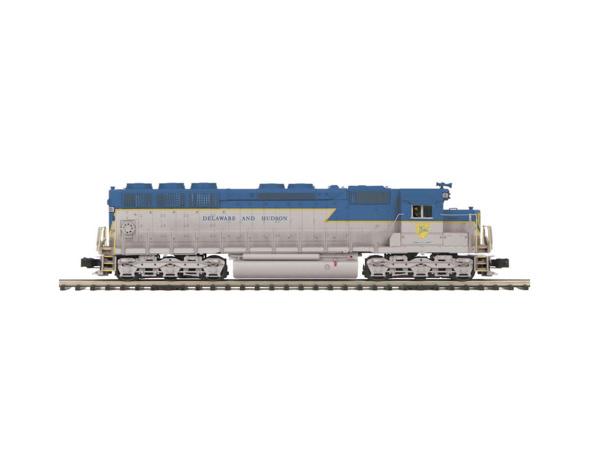 MTH Trains O Hi-Rail SD45 Low Hood w/PS3, D&H #802