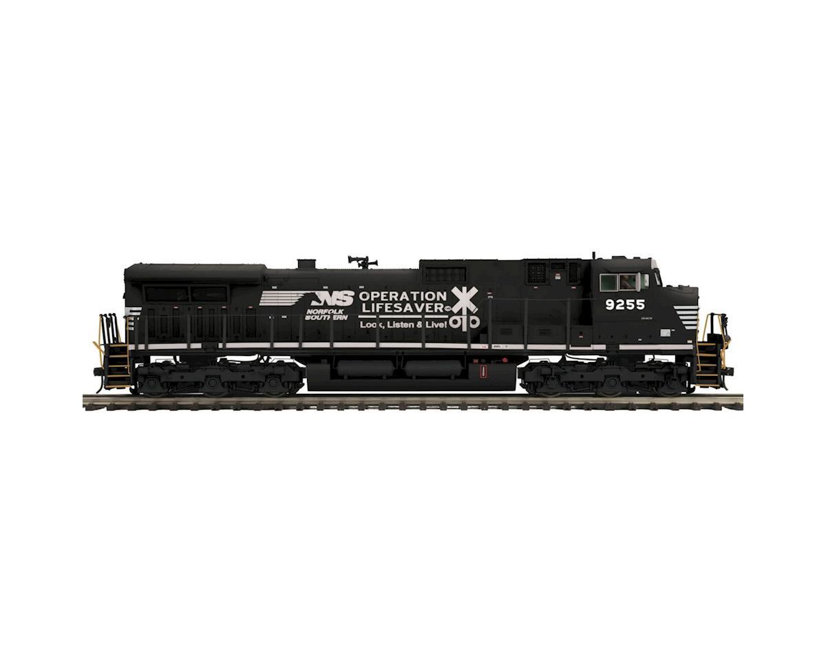MTH Trains O Hi-Rail Dash-9 w/PS3, NS #9255