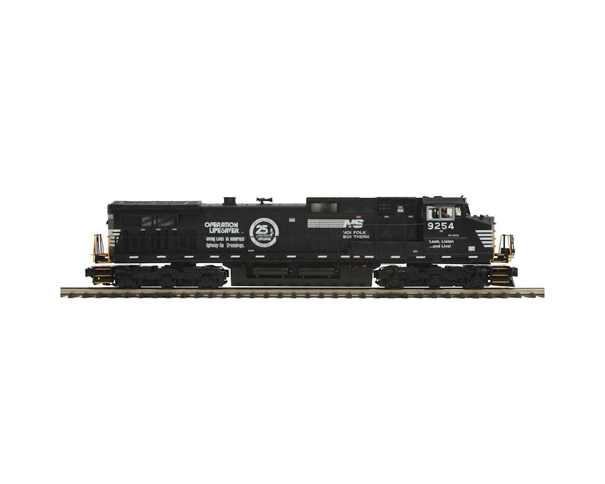 O Hi-Rail Dash-9 w/PS3, NS #9254 by MTH Trains