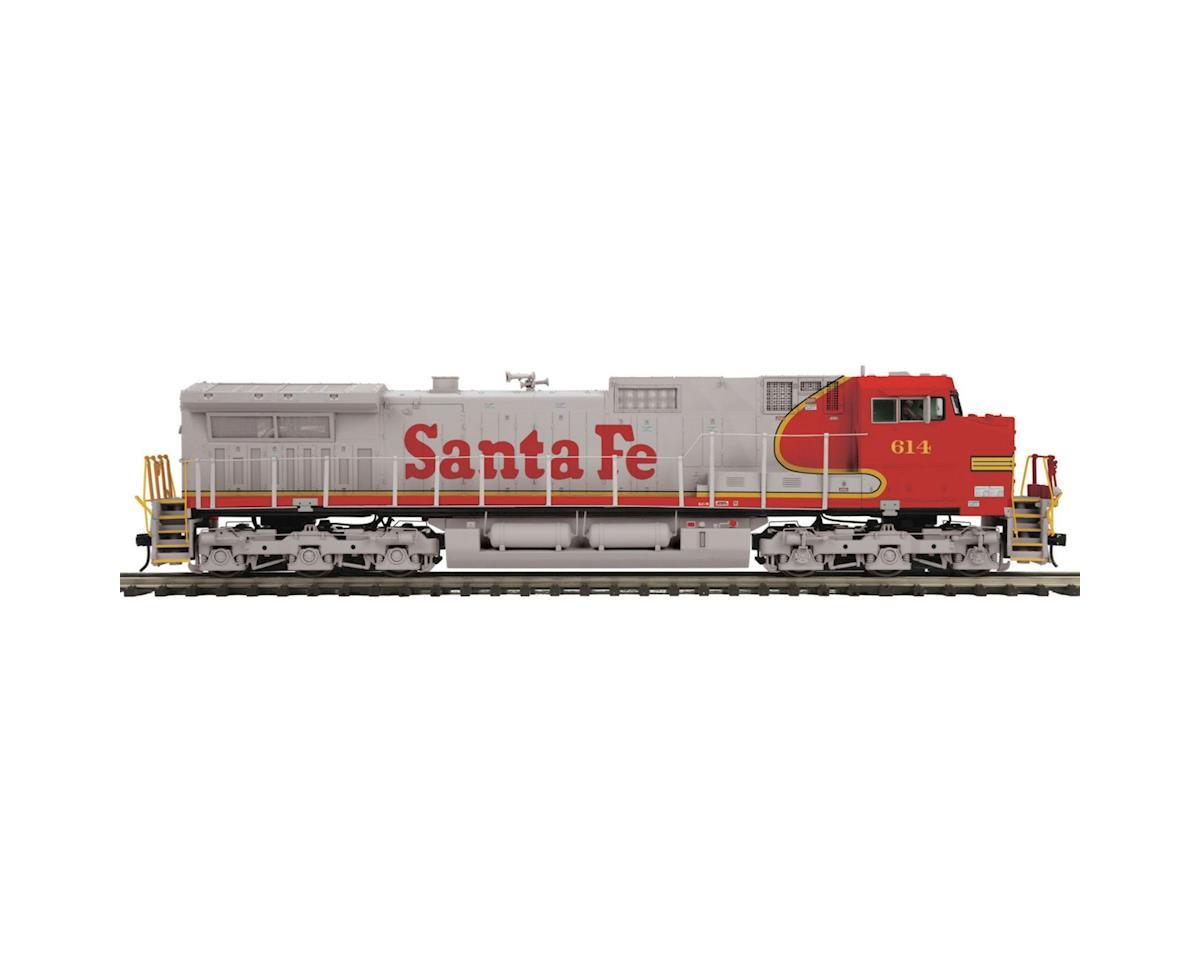 MTH Trains O Hi-Rail Dash-9 w/PS3, SF #614