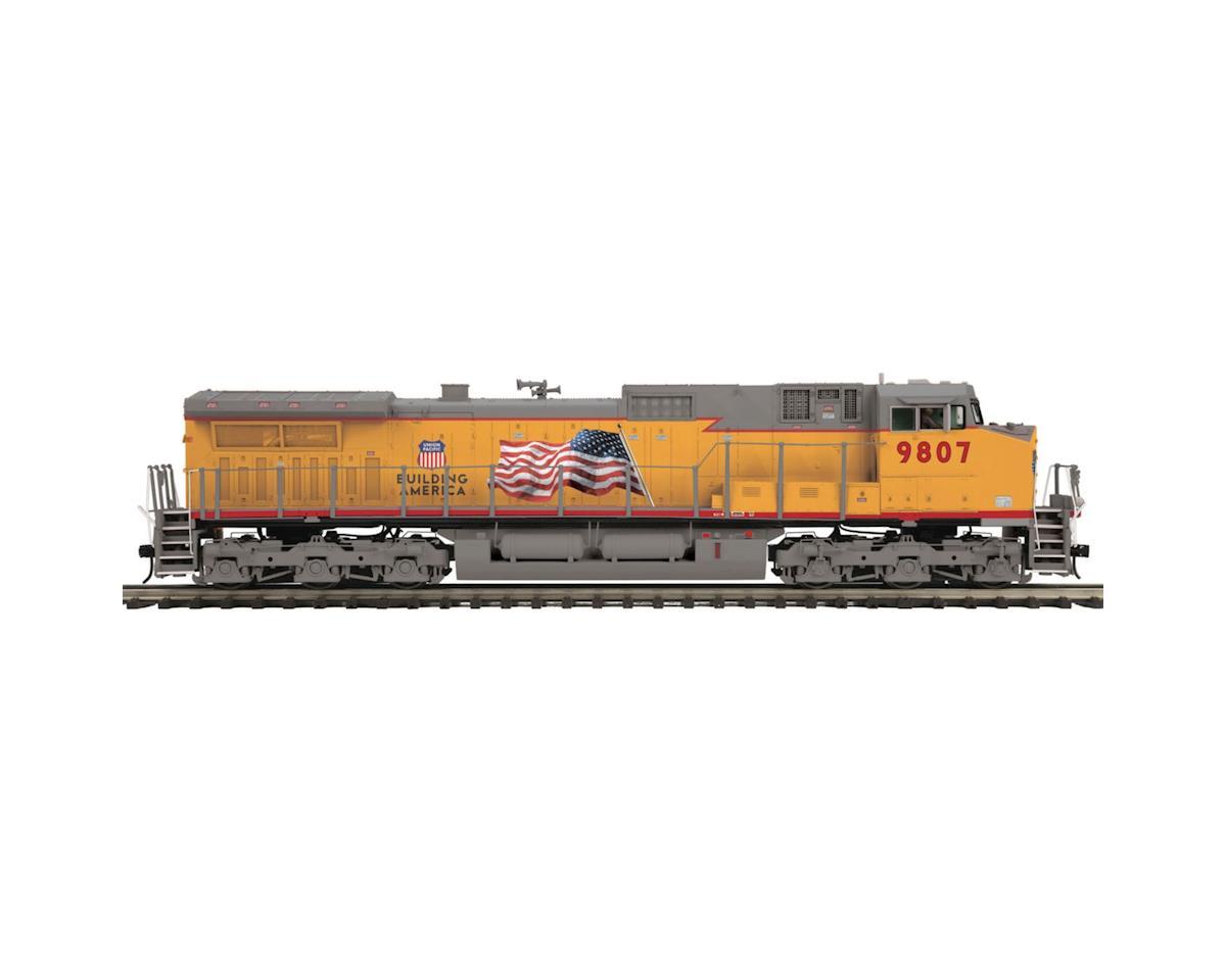 MTH Trains O Hi-Rail Dash-9 w/PS3, UP #9807