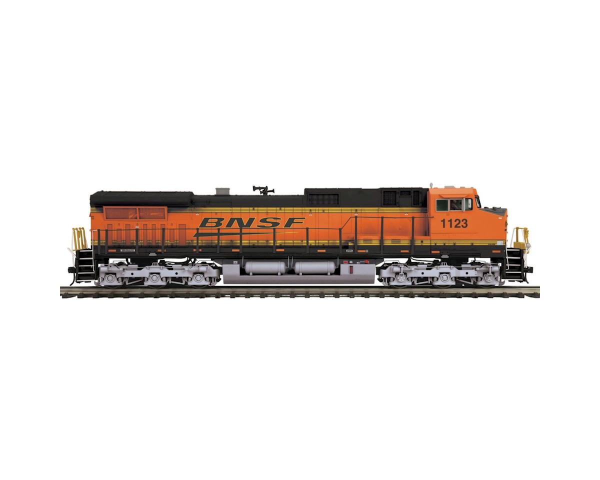 MTH Trains O Hi-Rail Dash-9 w/PS3, BNSF #1123