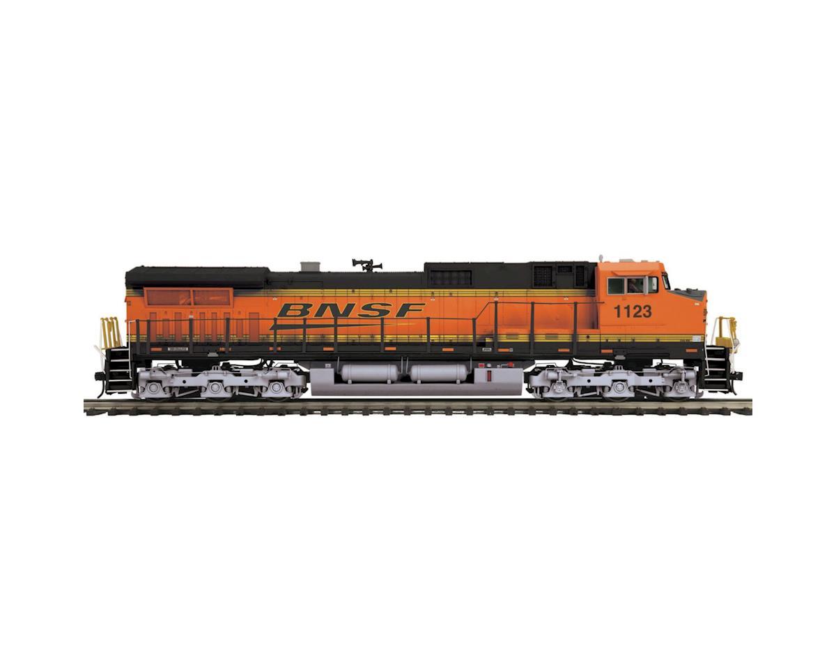 O Hi-Rail Dash-9 w/PS3, BNSF #1123 by MTH Trains
