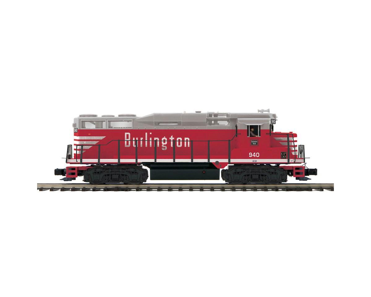 O GP-30 w/PS3, CB&Q #940 by MTH Trains