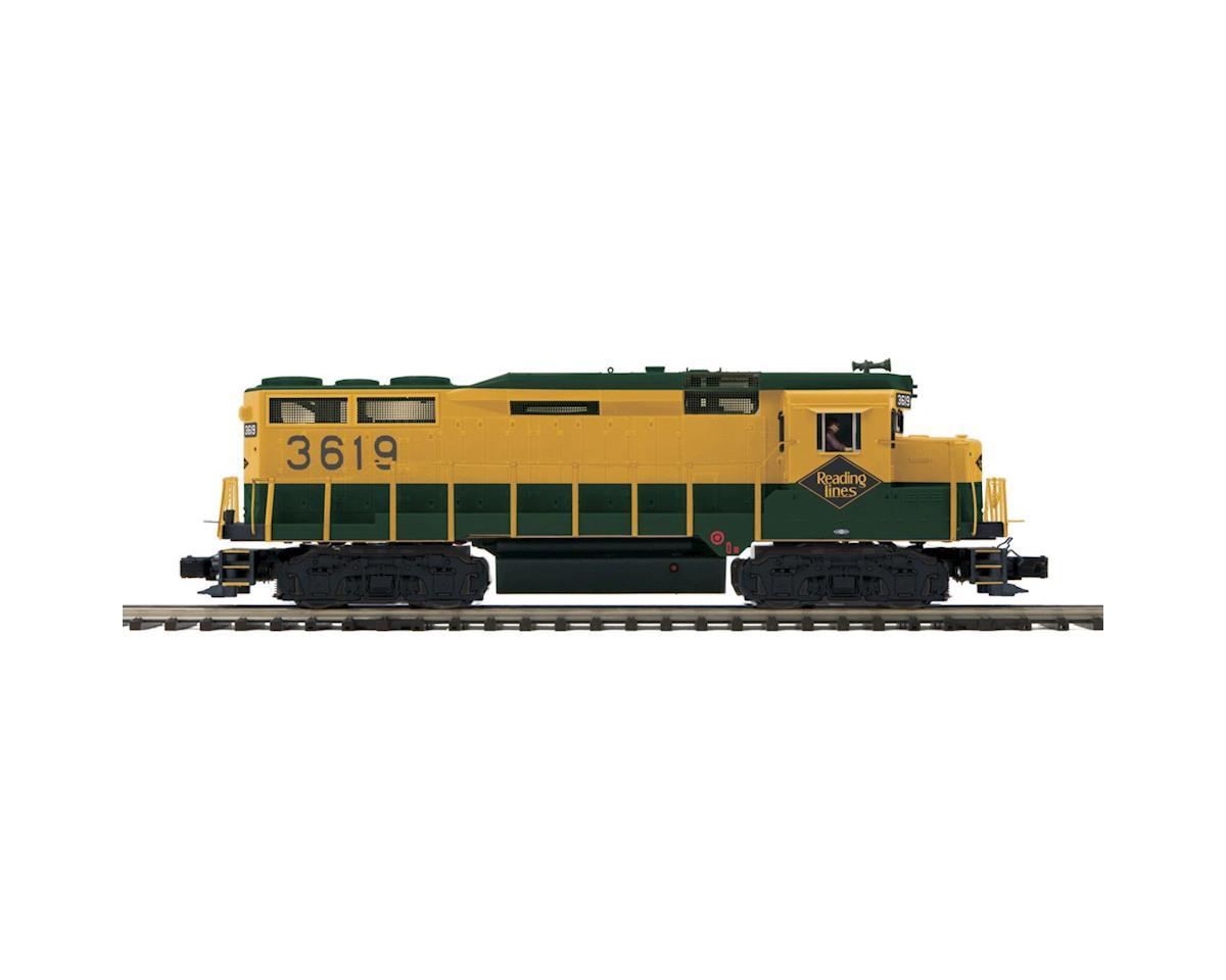 MTH Trains O GP-30 w/PS3, RDG #3619
