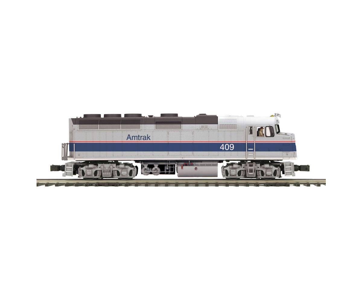 MTH Trains O Hi-Rail F40PH w/PS3, Amtrak #393