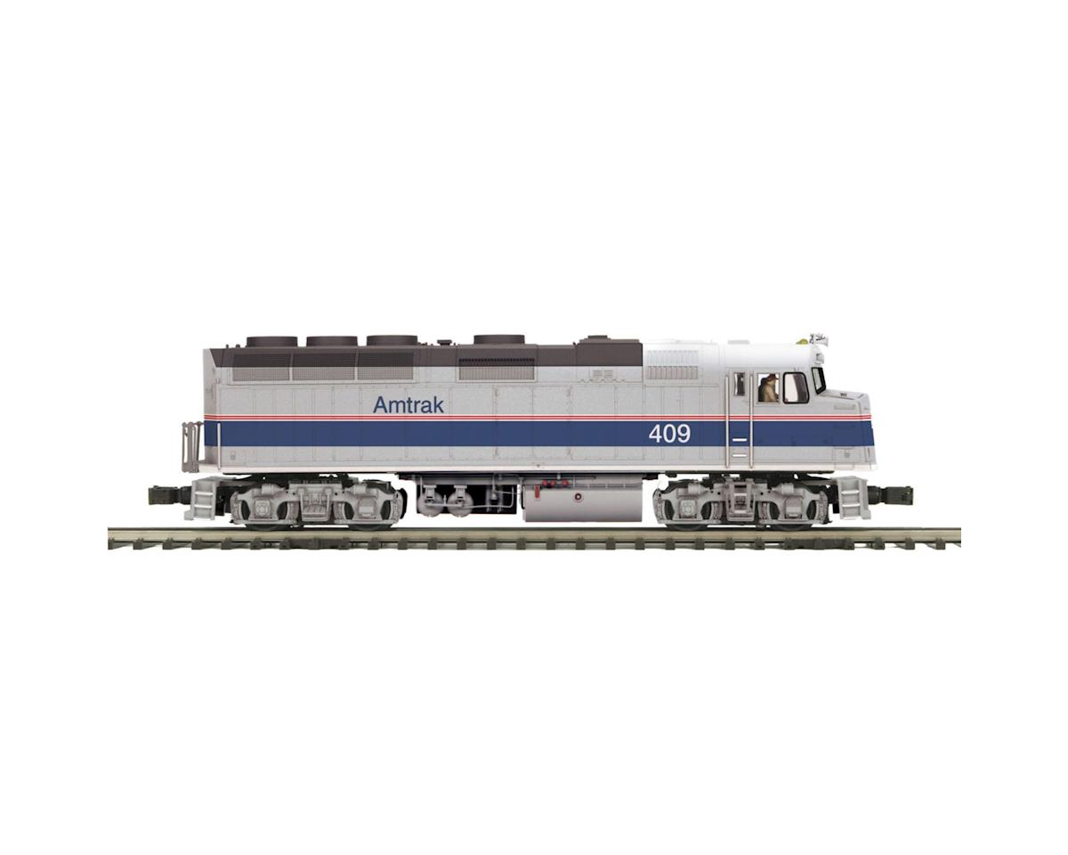 MTH Trains O Hi-Rail F40PH w/PS3, Amtrak #393