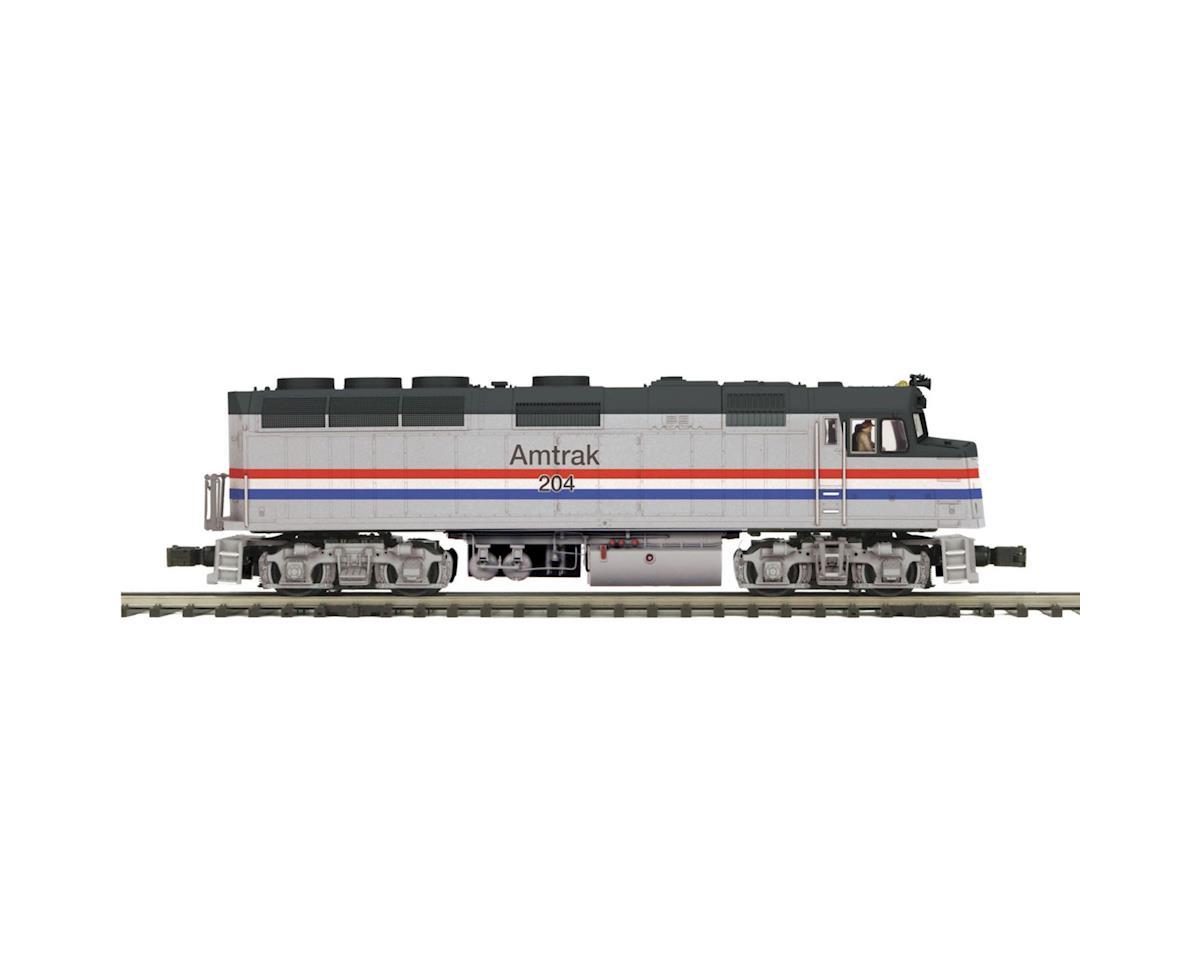 MTH Trains O Hi-Rail F40PH w/PS3, Amtrak #204
