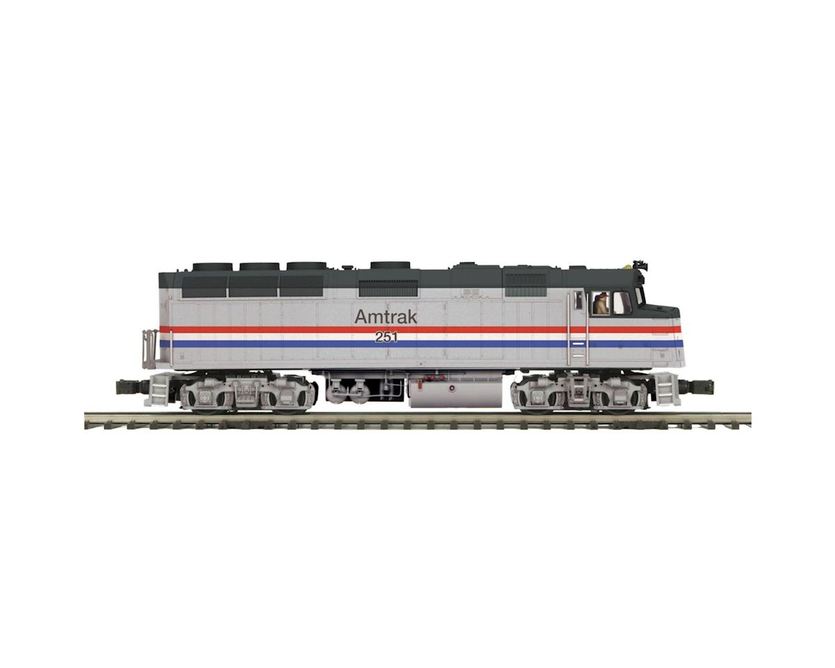 MTH Trains O Hi-Rail F40PH w/PS3, Amtrak #251