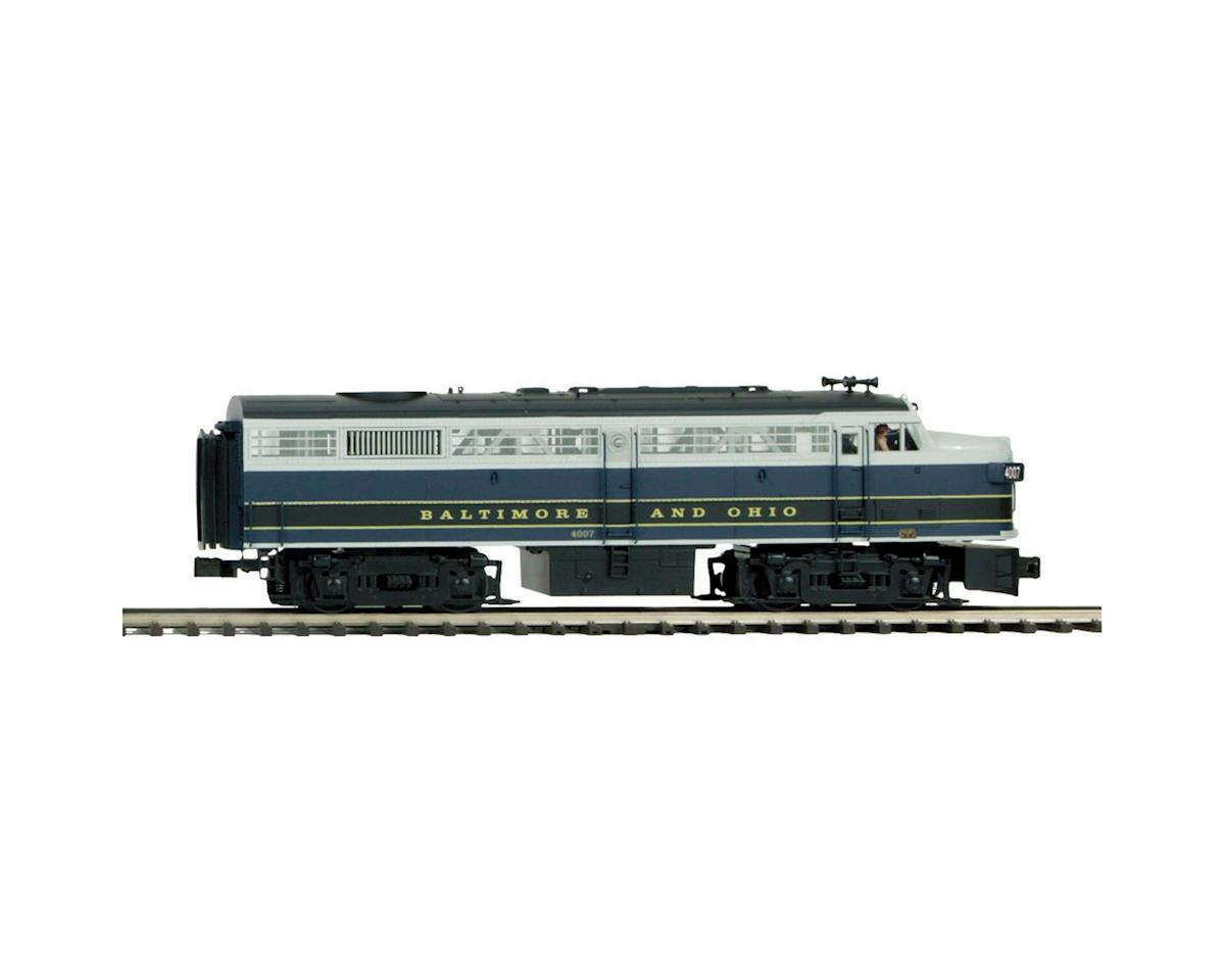 MTH Trains O Hi-Rail FA-2 A w/PS3, B&O #4007