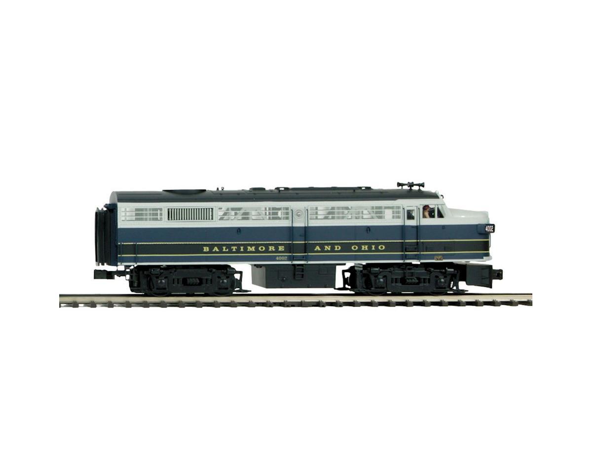 O Hi-Rail FA-2 A w/PS3, B&O #4002 by MTH Trains