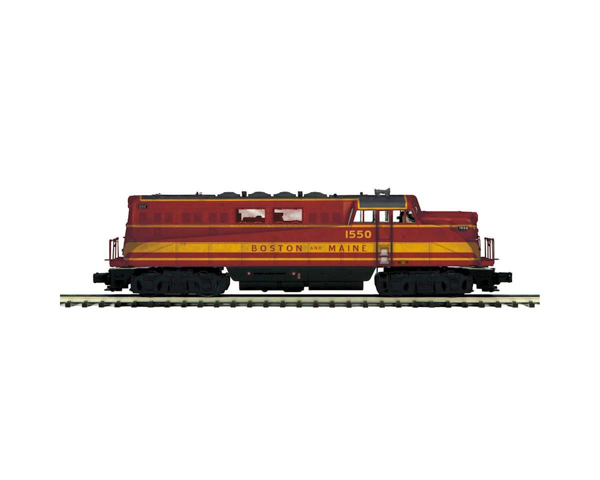 MTH Trains O BL-2 w/PS3, B&M #1550