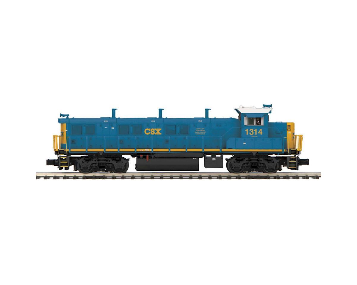 MTH Trains O Hi-Rail 3GS21B Genset w/PS3, CSX #1314
