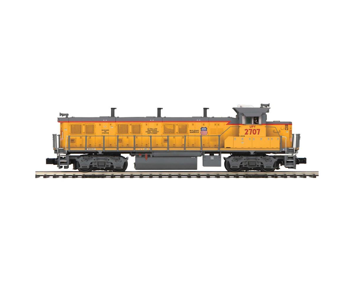 MTH Trains O Hi-Rail 3GS21B Genset w/PS3, UP #2707